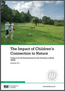 The Impact of Children's Connection to Nature